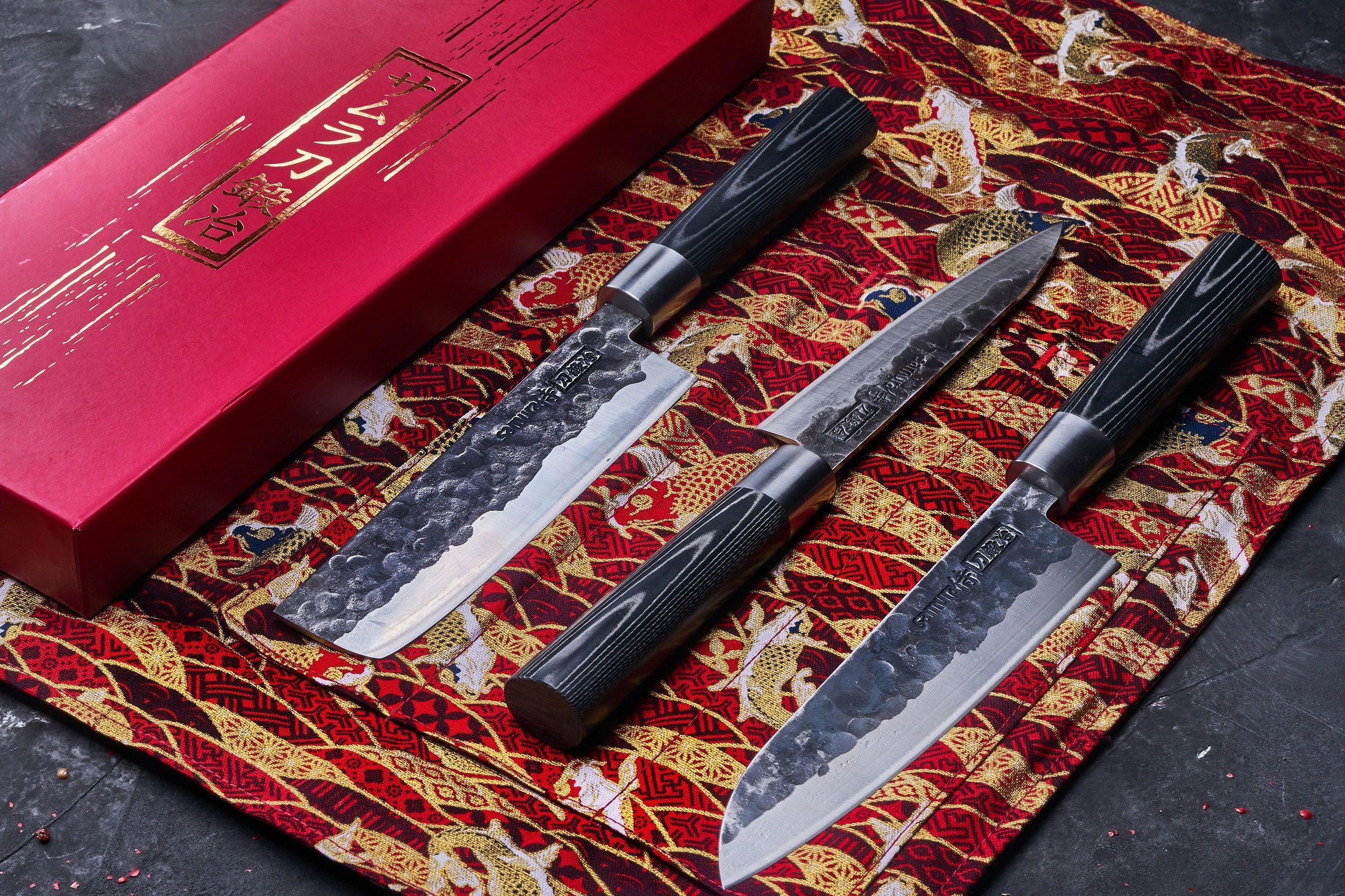 Фото японских кухонных ножей